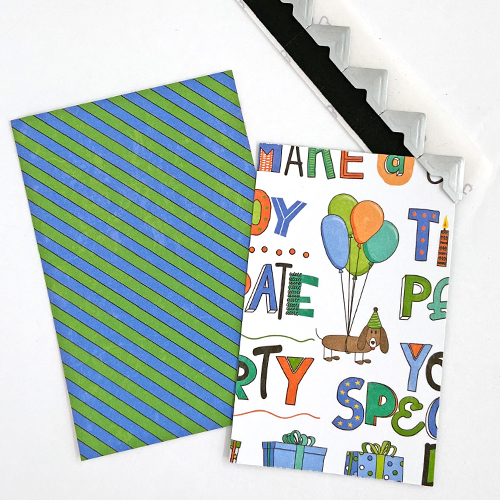 Birthday Origami Wallet Tutorial by Margie Higuchi for Scrapbook Adhesives by 3L