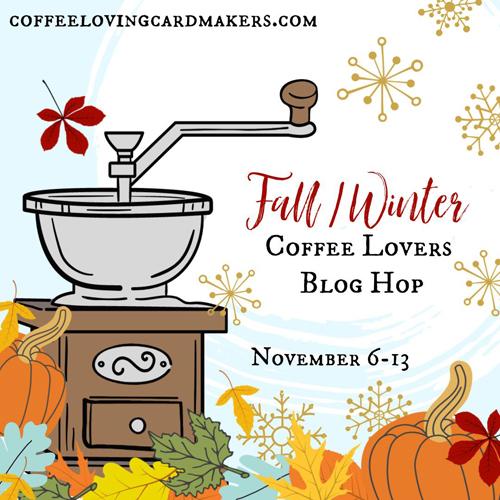 Coffee Lovers 2020 Fall/Winter Blog Hop Logo (Nov 6 - 13, 2020)