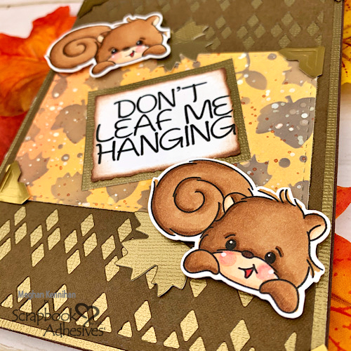 Don't Leaf Me Hanging Card by Meghan Kennihan for Scrapbook Adhesives by 3L
