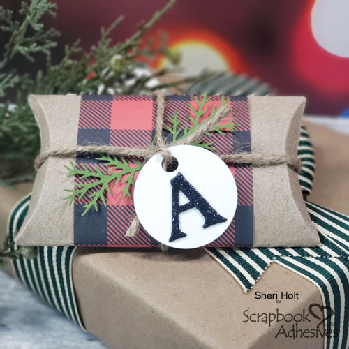 DIY Holiday Gift Card Holder by Sheri Holt for Scrapbook Adhesives by 3L