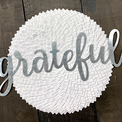 Grateful Farmhouse Sign by Christine Meyer using Scrapbook Adhesives by 3L