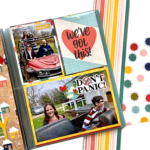 Social Distancing FlipBook by Christine Meyer for Scrapbook Adhesives by 3L