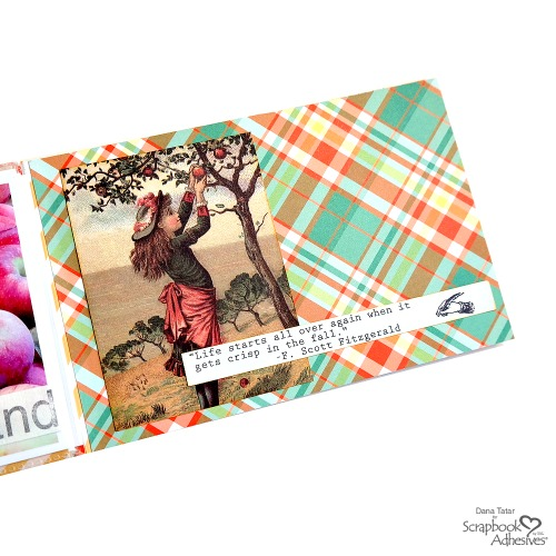 Happy Fall Flip Book Album by Dana Tatar for Scrapbook Adhesives by 3L