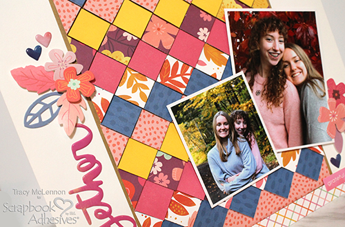Together Fall Layout By Tracy McLennon for Scrapbook Adhesives by 3L