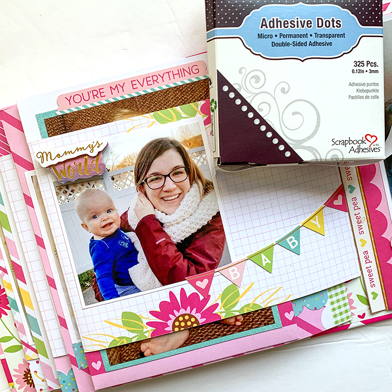 Hello Baby Album by Christine Meyer for Scrapbook Adhesives by 3L