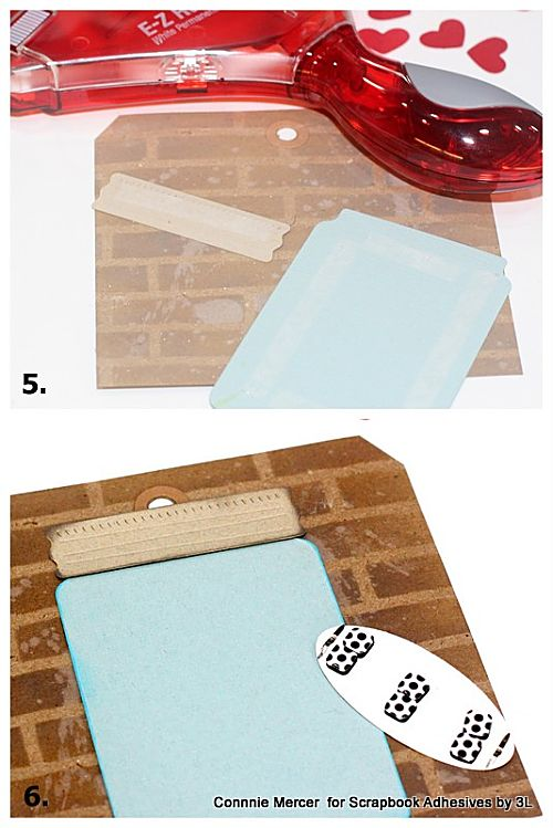 Fun Dome + Jar Gift Tags by Connie Mercer for Scrapbook Adhesives by 3L
