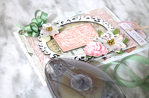 Ornate Christmas Card by Tracy McLennon for Scrapbook Adhesives by 3L