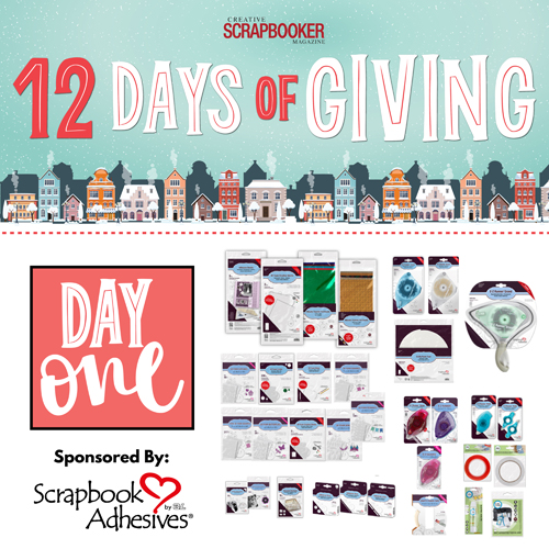 12 Days of Giving 2020 with Creative Scrapbooker Magazine