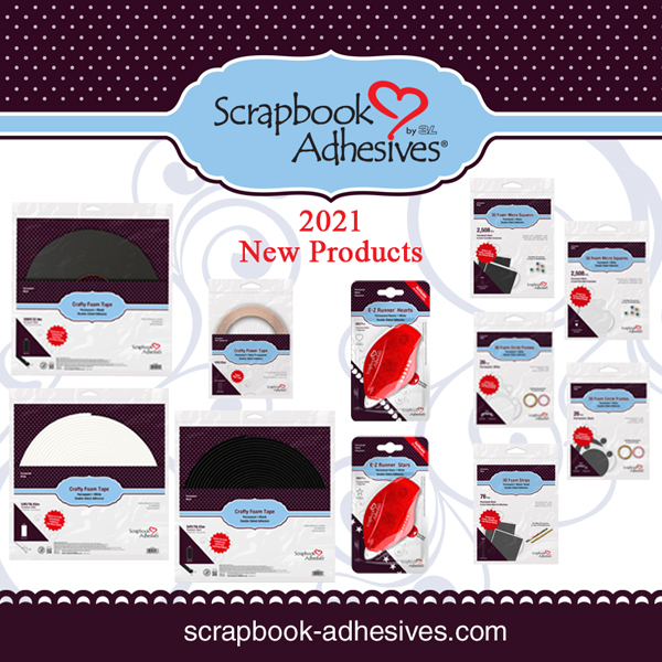Line Up of the 2021 New Product from Scrapbook Adhesives by 3L