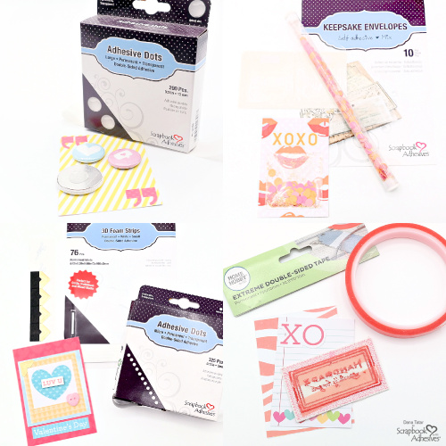 Pocket Letter for Valentine's Day by Dana Tatar for Scrapbook Adhesives by 3L