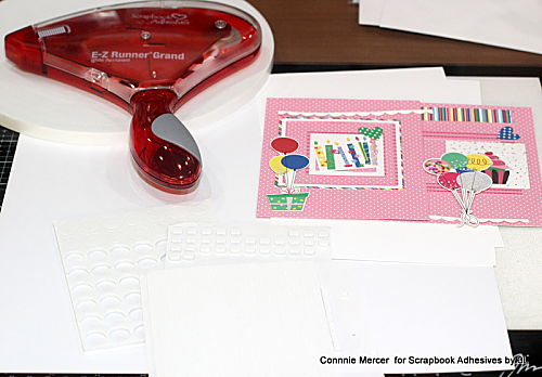 Delicious Birthday Card Duo by Connie Mercer for Scrapbook Adhesives by 3L