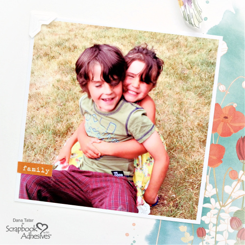 Good Vibes Scrapbook Layout by Dana Tatar for Scrapbook Adhesives by 3L