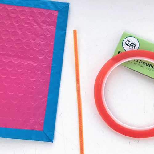 Upcycle Packaging to a Mini Journal by Judy Hayes for Scrapbook Adhesives by 3L