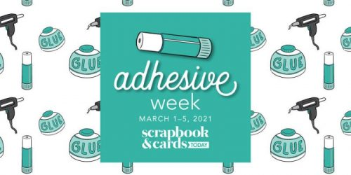 March 1 - 5 2021 is Adhesives Week at Scrapbook & Cards Today Magazine. Scrapbook Adhesives by 3L was featured and sponsoring an adhesive giveaway. Ends 3/11/21 at midnite.