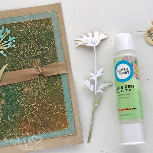 Unique Background Mother's Day Card by Judy Hayes for Scrapbook Adhesives by 3L