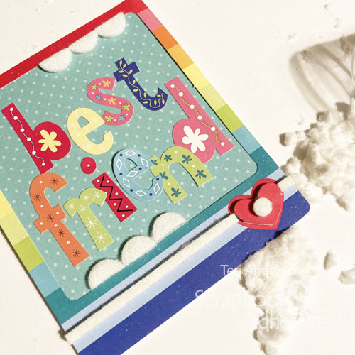 Fun and Colorful Mini Cards by Teri Anderson for Scrapbook Adhesives by 3L