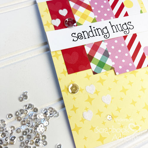Quick Cards with Paper Strips by Teri Anderson for Scrapbook Adhesives by 3L