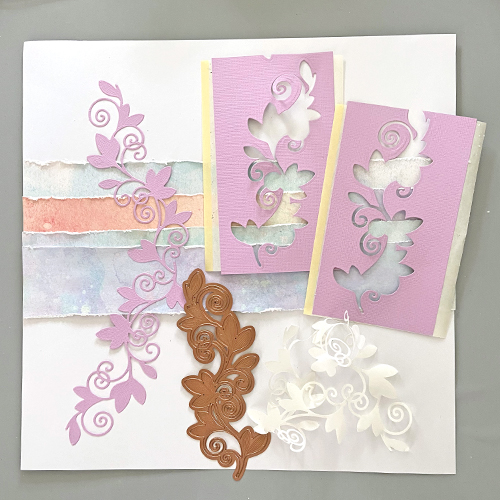 Together Watercolor Layout by Margie Higuchi for Scrapbook Adhesives by 3L