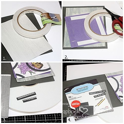 Especially for You Card by Connie Mercer for Scrapbook Adhesives by 3L