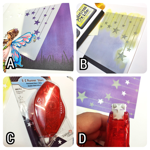 Wish on a Star Card by Jenn Gross for Scrapbook Adhesives by 3L