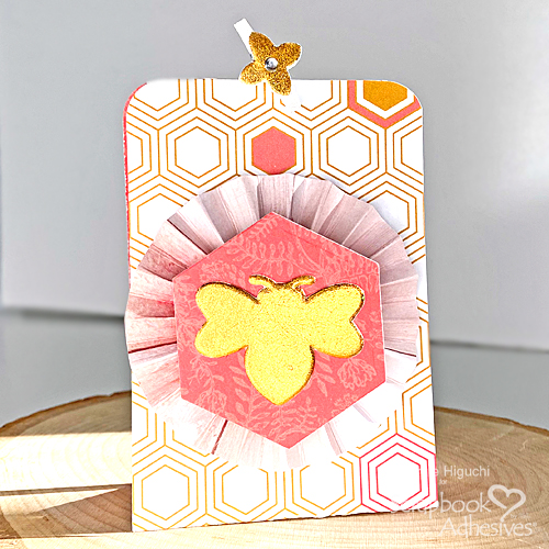 You're the Bees Knee Pouch by Margie Higuchi for Scrapbook Adhesives by 3L