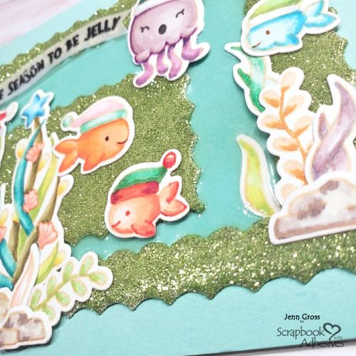 Tis the Sea-son Card by Jenn Gross for Scrapbook Adhesives by 3L