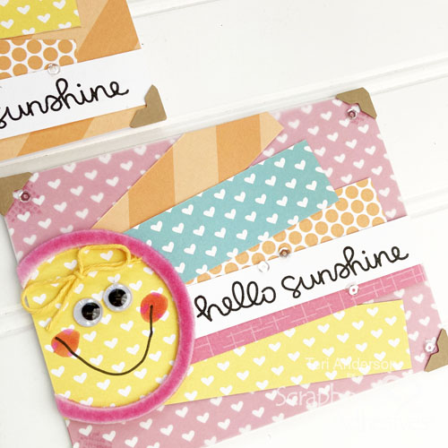 Sunny Cards for Summer by Teri Anderson for Scrapbook Adhesives by 3L