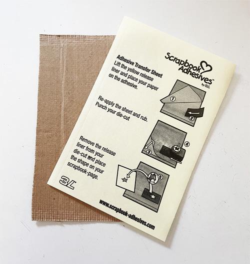 Wavy Burlap Birthday Card by Yvonne van de Grijp for Scrapbook Adhesives by 3L