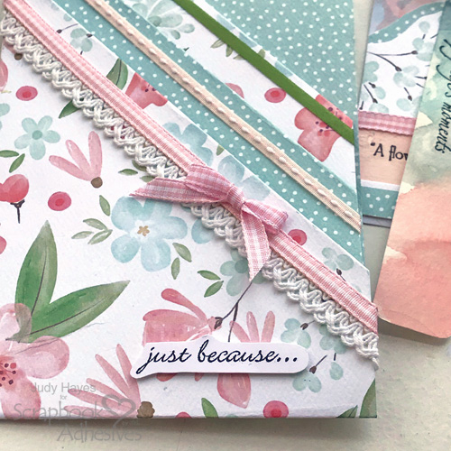 Pocket Card of Wishes by Judy Hayes for Scrapbook Adhesives by 3L