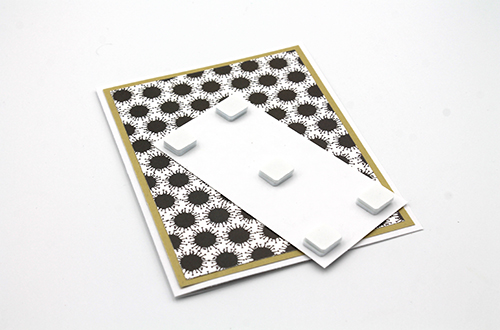 Six Feet Away Dimensional Card by Tracy McLennon for Scrapbook Adhesives by 3L