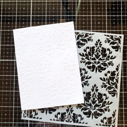 Floating Strips Card by Jamie Martin for Scrapbook Adhesives by 3L