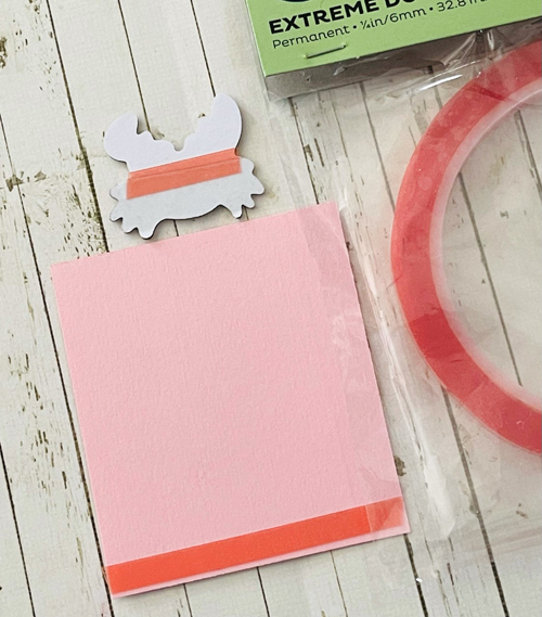 Good Vibes Fun Fold Card by Linda Lucas for Scrapbook Adhesives by 3L