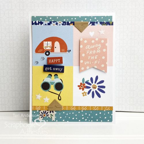 Cards for Travelers by Teri Anderson for Scrapbook Adhesives by 3L