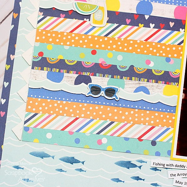 Good Fun Page with Simple Stories by Connie Mercer for Scrapbook Adhesives by 3L