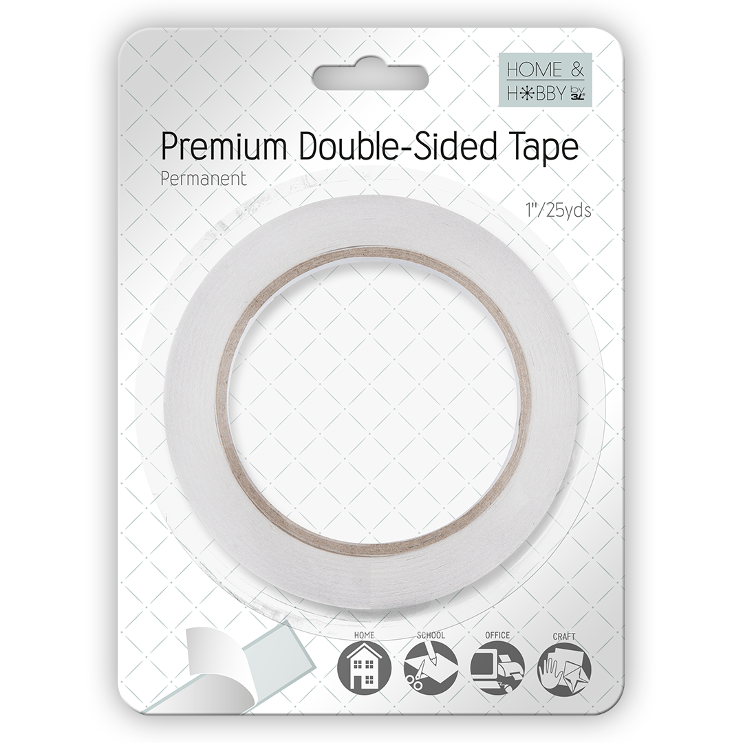 Premium Double Sided Tape 1in