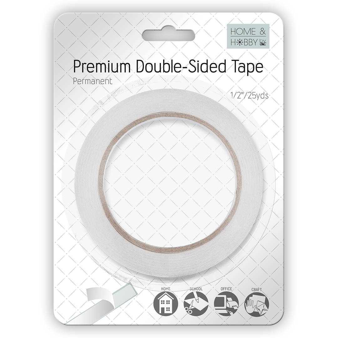 Premium Double Sided Tape 1/2in