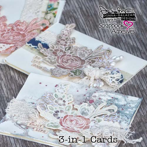 3-in-1 Cards Free E-Class by Donna Salazar