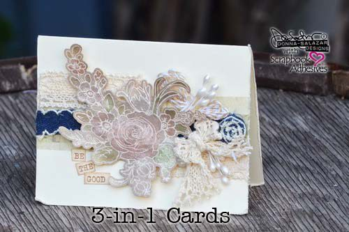 Donna Salazar 3-in-1 Cards Free e Class Intermediate Card