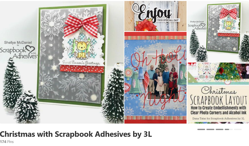 Christmas with Scrapbook Adhesives by 3L