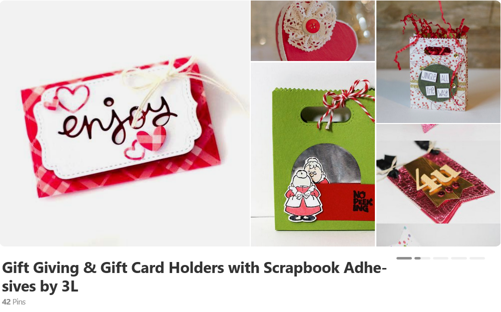 Gift Giving Ideas with Scrapbook Adhesives by 3L