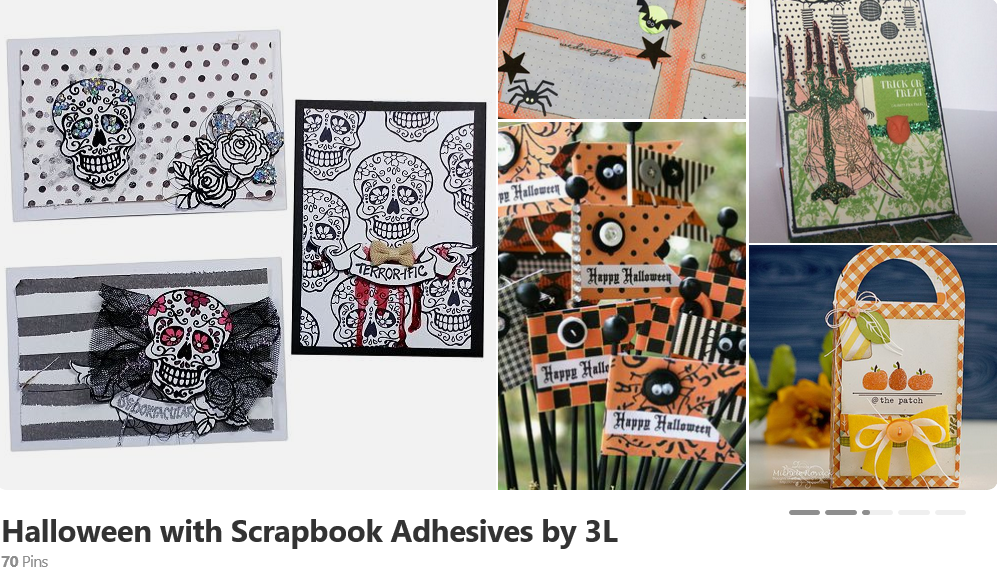 Halloween with Scrapbook Adhesives by 3L on Pinterest