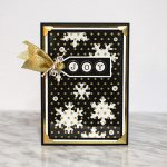 Joy Card with Snowflakes