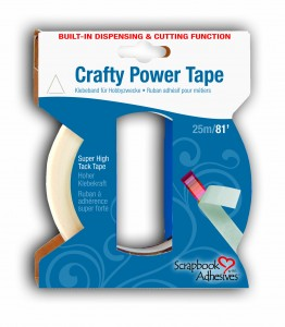 Crafty Power Tape 81' Built in Dispenser
