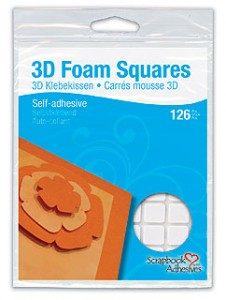 3D Foam Squares Regular