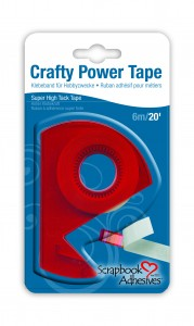Crafty Power Tape 20' Blister Pack w. Dispenser