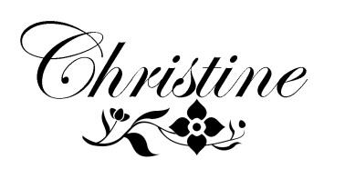 Christine Emberson signature