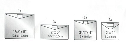 Keepsake Envelope Sizes