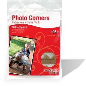 Classic Photo Corners Kraft Paper