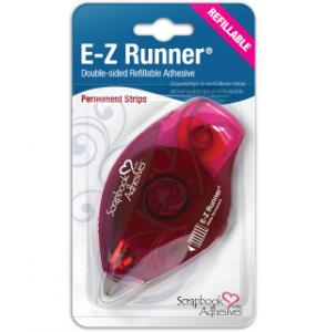 E-Z Runner Permanent Strips Refillable dispenser
