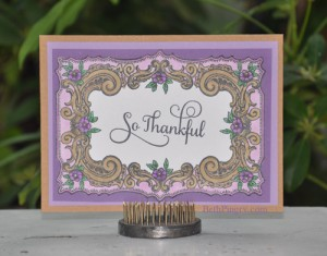 So Thankful Card by Beth Pingry